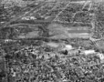 09.  Aerial View of C. S. Mott's Farm, Applewood
